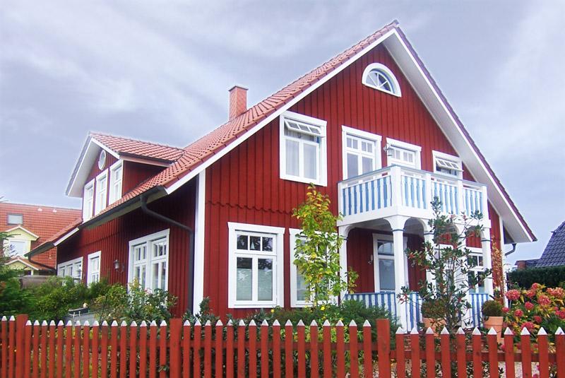 Schwedenstil häuser